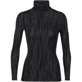 Icebreaker 250 Vertex - Sous-vêtement Femme - gris/noir